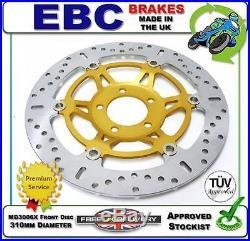 New Ebc Front Brake Disc Md3006x 310mm Dia Suzuki Gsf1200 Bandit Faired 99 00