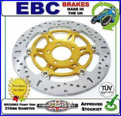 New Ebc Front Brake Disc Md3006x 310mm Dia Suzuki Gsf1200 Bandit Naked 96 97 98