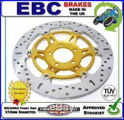 New Ebc Front Brake Disc Md3006x 310mm Dia Suzuki Gsf400 Gsf 400 Bandit 91 92 93