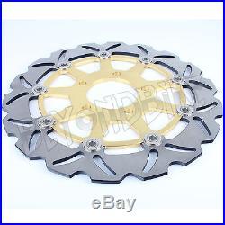 Pair Front Brake Discs Rotors GSX600F Katana K3 K4 K5 K6 SV 650 S 11 12 SV650 10