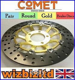 Pair Front Brake Discs Suzuki GSF 600 Y/K1/K2/K3/K4 (Naked Bandit) 00-04 R903GD