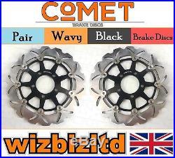 Pair Front Brake Discs Suzuki GSF 650 K5/K6 (Naked Bandit NonABS) 05-06 W908BK