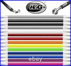 R&G Suzuki GSF1200 K1 K5 Bandit 2001 05 Braided Stainless Brake Clutch Line Hose