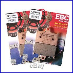 Rezo Wavy Front Brake Disc & EBC HH Pad Kit Suzuki GSF 1200 Bandit 95-00