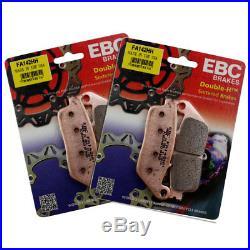 Rezo Wavy Front Brake Disc & EBC HH Pad Kit Suzuki GSF 600 N Bandit 95-99