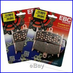 Rezo Wavy Front Brake Disc&EBC Sintered Pad Kit Suzuki GSF 1200 S Bandit 01-05