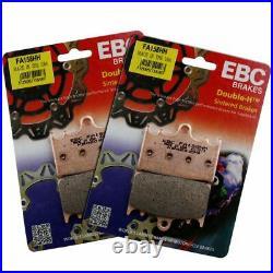 Rezo Wavy Front Brake Disc&EBC Sintered Pad Kit Suzuki GSF 1250 N Bandit ABS