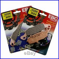 Rezo Wavy Front Brake Disc&EBC Sintered Pad Kit Suzuki GSF 600 S Bandit 00-04