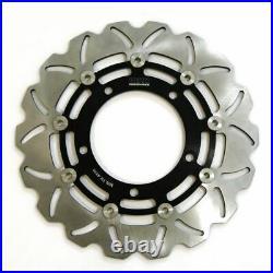 Rezo Wavy Front Brake Rotor Discs Pair fits Suzuki GSF 1250 N Bandit ABS 07-12