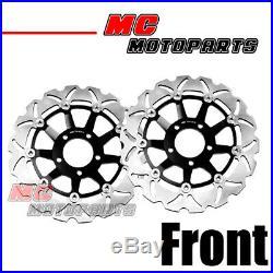 SS Steel Front Brake Disc Set Fit Suzuki GSF 600 BANDIT S 95-99 95 96 97