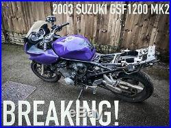 SUZUKI GSF1200 BANDIT MK2 Front Brake Calipers 6 Pot 2001 2006 Tokico OEM