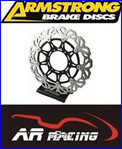 SUZUKI GSF 650 BANDIT ABS 2007-2011 ARMSTRONG FRONT WAVY BRAKE DISC (single)