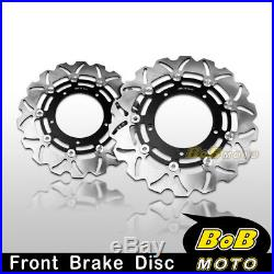 Stainless Steel Front Brake Disc Rotor 2pcs For Suzuki GSF BANDIT 1250 S 2011 12