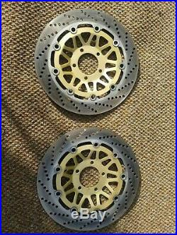 Suzuki 1200 Bandit 96-99 Front Brake Discs Very Good Condition