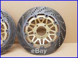 Suzuki Bandit GSF1200 MK1 Front brake discs OE, Zero wear (Fits 95-00)