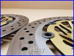 Suzuki Bandit GSF1200 MK2 Front brake discs, Zero wear, Fits 2000 2006