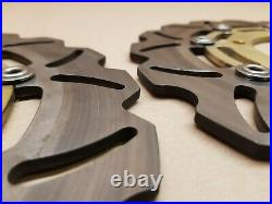 Suzuki Bandit GSF1250 Front brake discs, Afermarket Wavey, Fits 2007 2011