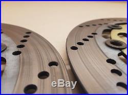 Suzuki Bandit GSF600 Front brake discs, Zero wear