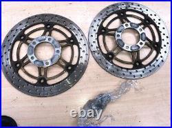 Suzuki Bandit Gsf600 Front Wheel Brake Discs Pair 17'' J17xmt3.50 120/60zr17+