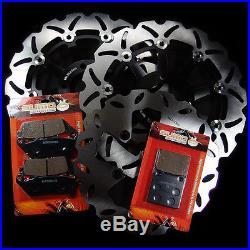 Suzuki F+R Brake Rotor + Pads GSF 600 Bandit 1995-1999 RF 400 & RF 600 93-97