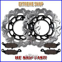 Suzuki Front Brake Rotor + Pads GSF650 (ABS Model) Naked & Faired Bandit (05-06)