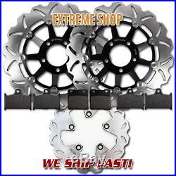 Suzuki Front + Rear Brake Rotor + Pads GSF 1200 Bandit 1996 1997 1998 1999 2000