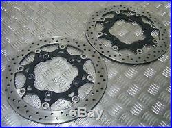 Suzuki GSF1200 1200 Bandit K6 2007 Front Brake Discs Original 530