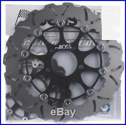 Suzuki GSF1200 Bandit 2002 Tsuboss Wavy Front Brake Disc
