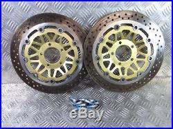 Suzuki GSF1200 Bandit 2003 front brake discs