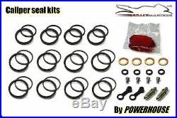 Suzuki GSF1200 Bandit front brake caliper seal rebuild repair service 2003 2004