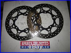 Suzuki GSF1200 GSF 1200 Bandit 06 Front Brake Discs PAIR Read Description