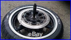 Suzuki GSF1200 Mk1/2 Bandit Front & Rear Wheels, Tyres & Brake Discs + Spindles