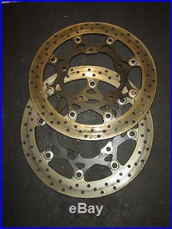 Suzuki GSF1250 GSF 1250 Bandit 07 Front Brake Discs PAIR Read Description