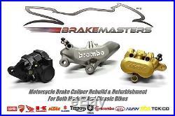 Suzuki GSF600 Bandit front brake caliper rebuild refurbishment service 2002 2003