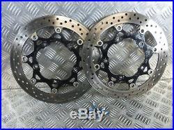 Suzuki GSF650 Bandit 2012 front brake discs