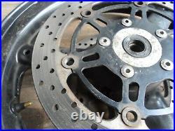 Suzuki GSF650 Bandit front wheel with brake discs