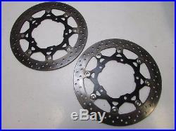 Suzuki GSF650 K7 L1 & GSF1250 K6 L2 Bandit Front Left Right Brake Discs PAIR