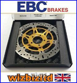 Suzuki GSF 1200 Bandit 1996-2000 EBC Front Brake Disc Gold X-Series