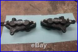 Suzuki GSF 1200 bandit 6 pot tokico front brake calipers fully reconditioned