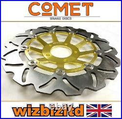 Suzuki GSF 400 M/N/P Bandit 1991-1995 Pair of Comet Front Gold WF Brake Discs