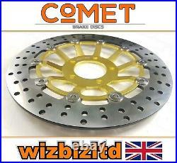 Suzuki GSF 600 Bandit 1995-1999 Pair of Comet Front Brake Discs Gold RF