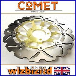 Suzuki GSF 600 Bandit 1995-1999 Pair of Comet Front Brake Discs Gold WF