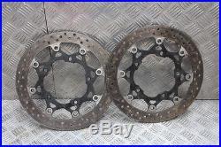 Suzuki GSF 650 1250 Bandit front brake discs 08 09 10 11 K9 2008 2009 2010 2011