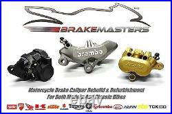 Suzuki GSF 650 Bandit front brake caliper piston seal rebuild kit ABS AK7 2007