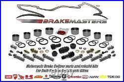 Suzuki GSX 1250 FA front brake caliper piston seal rebuild kit L4 2014