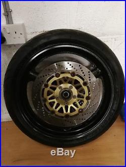 Suzuki Gsf12000 Gsf 1200 Bandit Mk1 96 99 Front Wheel & Brake Discs