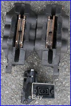 Suzuki Gsf1200 Gsf 1200 Mk2 Bandit Left Right Front Caliper Pads Master Cylinder