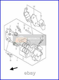Suzuki Gsf600 Gsf 600 Bandit Front Brake Callipers Calipers New Seals 2000 05