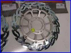 Suzuki Gsf 600 Bandit 96-03 Gsx Katana 99-02 Sv650 Sv650s 99-02 Brake Rotors