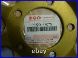 Suzuki bandit 600 mk1/mk2 motorcycle front brake disc O/S ONLY DONE 80 MILES